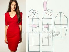 TRANSFORMATION DRESSES-9 ~ Templates Fashion by Measure