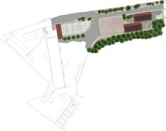 Centre Rosalie Javouhey Site Masterplan Phase 1