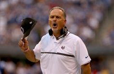 Head coach Chuck Pagano of the Indianapolis Colts reacts during the third quarter of the game against the Detroit Lions at Lucas Oil Stadium on September 11, 2016 in Indianapolis, Indiana. (Photo by Dylan Buell/Getty Images)