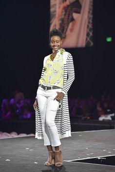 Cabi model Kimberly looks stunning at the on the runway at the cabi fashion show!! Shop 24/7 @ deborahkolb.cabionline.com