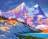 A collection of Paintings by Canadian Painter Nicholas Bott. Canadian Painters, Canadian Artists, Street Painting, Magic Realism, Krishna Art, Mountain Art, Abstract Expressionism, Painting Inspiration, Landscape Paintings
