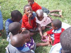 Escuela rural, Bukinda, Uganda