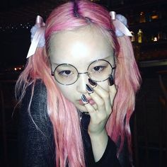 FernandaLy + #fangophilia #魔法少女  #フェルナンダリー #pinkhair