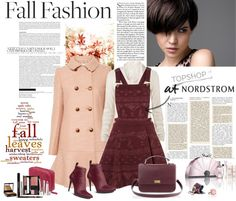 """Fall fashion"" by kalindabenson ❤ liked on Polyvore"