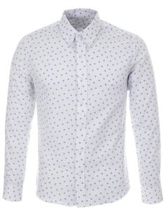 FLATSEVEN Mens Slim Fit Star Pattern Printed Long Sleeve White Casual Shirt (SH213) Blue, XL FLATSEVEN http://www.amazon.com/dp/B00KR8X96C/ref=cm_sw_r_pi_dp_xhnlub0N4X1PB