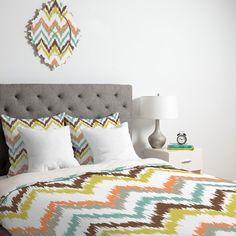 Super cute Chevron Comforter