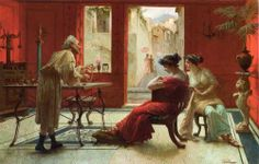 Ettore forti - Afternoon at the jewelry shop