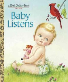 This Little Golden Book reissue features Eloise Wilkin's chubby-cheeked babies discovering sounds around the house, from the jingle of Mommy's keys to the buzzing of Daddy's razor. This timeless class