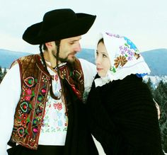 Hriňová town, Podpoľanie region, Central Slovakia. Folk Costume, Costumes, 7 Continents, Heart Of Europe, European Countries, Czech Republic, Evolution, Cowboy Hats, Faces