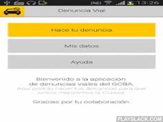"""BA Denuncia Vial  Android App - playslack.com ,  La propuesta """"Denuncia vial"""" permite a los vecinos agilizar las denuncias de ciertas infracciones de tránsito, que resultan muy frecuentes, afectan a la buena convivencia y que puedan ser fácilmente acompañadas por evidencia fotográfica.Basándose en la ley 451 los vecinos de la Ciudad de Buenos Aires podrán registrar fotográficamente ciertas infracciones y enviarlas a través de esta app. Una vez ingresadas serán analizadas y sobre aquellas…"""