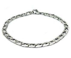 "Stainless Steel Women's Bracelet 8.5"" Tioneer. $15.95"