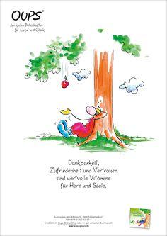 Poster des Monats .:. OUPS - vom Planet des Herzens .:. Verlag Oups and Friends