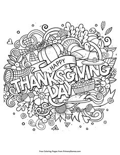 15 Best Thanksgiving coloring sheets images | Coloring pages ...