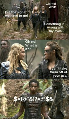 The 100 or Clexa