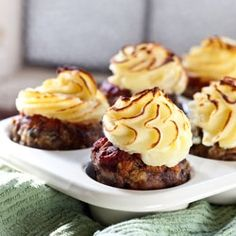 Meatloaf Cupcakes!...I'm going to make these