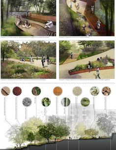 by David Williams, Integrated Design Project, 2013 - Architecture Design Ideas Landscape Design Plans, Landscape Architecture Design, Urban Landscape, Landscape Architects, Landscape Concept, Vista Landscape, Landscape Diagram, Landscape Rake, Landscape Steps
