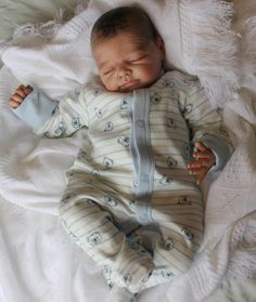 Beautiful Reborn Baby Boy Doll ~ Teddy~ Sam's Reborn Nursery