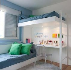 "Fantastic ""bunk bed designs diy"" info is available on our website. Check it out and you wont be sorry you did. Small Rooms, Small Spaces, Bedroom Furniture, Bedroom Decor, Furniture Plans, Kids Furniture, System Furniture, Furniture Chairs, Cozy Bedroom"