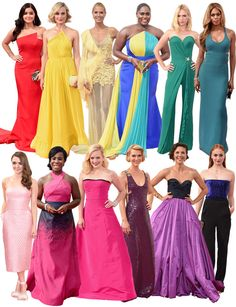 The Best Trend to Come Out of the Emmys? RAINBOWS!