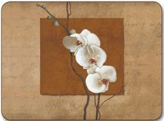 """SET OF 6 MIXED LUXURY GOLDEN ORCHID CORK BACKED PLACEMATS 11 X 8.5 by PCJ SUPPLIES. $40.00. A SET OF 6 MIXED LUXURY PLACEMATS(11"""" x 8.5"""") """"THE NEW YORK BOTANICAL GARDEN""""  SEE SECOND PICTURE FOR OTHER DESIGNS IN PACK    MADE IN NEW ZEALAND   LAMINATED WOOD- WIPE CLEAN SURFACE   CORK BACKING   PROTECTS FURNITURE AGAINST SCRATCHING   HEAT RESISTANT TO 110oC / 1225oF  AVAILABLE IN MORE DESIGNS   MATCHING COASTERS ALSO AVAILABLE IN OUR AMAZON SHOP"""