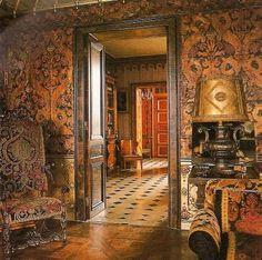 Rudolph Nuryev's apartment Home Interior Design, Interior And Exterior, Interior Decorating, Beautiful Interiors, Beautiful Homes, French Interiors, Hotel Des Invalides, Musée Rodin, Julie London