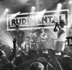 Rudimental live on stage