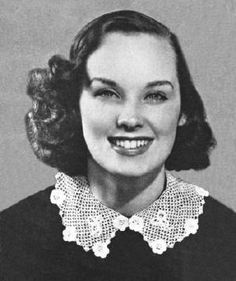 Collar = vintage free Crochet pattern to crochet this clever