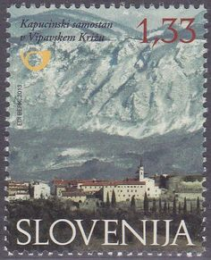 Stamp%3A%20The%20Capuchin%20Monastery%20in%20Vipavski%20Kriz%20(Slovenia)%20(Medieval%20Monasteries)%20Mi%3ASI%201000%2CYt%3ASI%20830%20%23colnect%20%23collection%20%23stamps