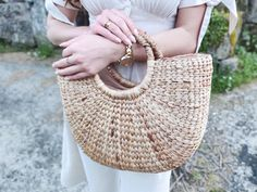 Vintage Linen Dress - Easter in Galicia Vintage Linen, Easter Dress, Linen Dresses, Straw Bag, My Style, Bags, Accessories, Fashion, Handbags