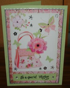 Mother's Day card made for cards for Troops