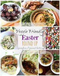 Veggie Friendly Easter Round Up {vegan, vegetarian, healthy options} // pumpkin & peanut butter
