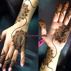#henna #uae #henna_art #artist #hennaaddict #floralHenna #hennalove #hennawedding #7enna #dubai #instaDaily #instagram #henna_designer #Mehendi_designer #hennaForBride #art #henna_art #saloon #arousAlmadam #Beauty #beautysaloon Dubai Mehendi Designs, Latest Arabic Mehndi Designs, Mehndi Art Designs, Simple Mehndi Designs, Mehndi Designs For Hands, Mehndi Design Pictures, Mehndi Images, Beautiful Henna Designs, Beautiful Mehndi