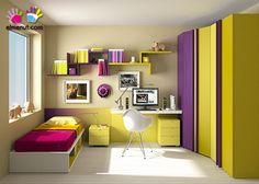 die besten 25 colores para habitaciones juveniles ideen auf pinterest. Black Bedroom Furniture Sets. Home Design Ideas