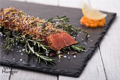 Gebeizter Honigsenf-Lachs / Graved Honey Mustard Salmon