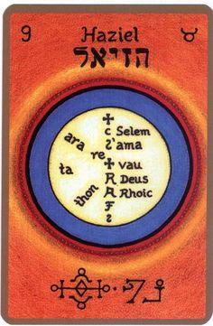 HAZIELLE SINCERE Est votre Ange gardien si vous êtes né(e) entre le 1er et le 5 mai Nom divin hébreu: AGSI סבא ou «celui qui est favorable » Il est le 9eme ange et le 1er ange appartenant au 2eme…