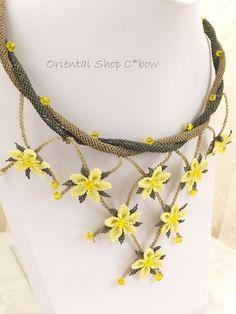 シルクイーネオヤネックレス: トルコオヤ・雑貨通販店C*bow