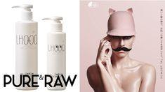 LHOOQ    Pure'n Raw Shampoo & Treatment   Designed by Masataka Izawa / VIZM