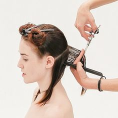 Combining classic approaches to cutting with modern sihoulettes, the new TONI&GUY Classics Collection, is a celebration of the fundamental cutting techniques you use every day from the cutting experts at TONI&GUY. This, sleek, angled bob creates a strong line from short in the back and lightly longer in front. Mastering this cut and refining the … Continued