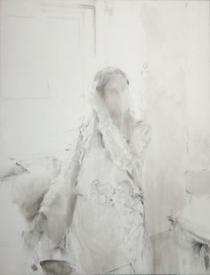 Miquel Wert, Untitled, oil and charcoal on canvas, 2005