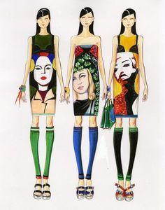 Fashion Illustrator Paul Keng | 58 photos | VK