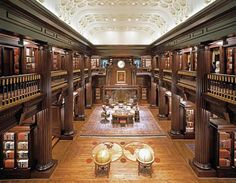 Truly Grand Home Libraries, part 4