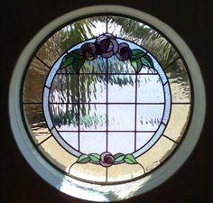 Another pretty round window.