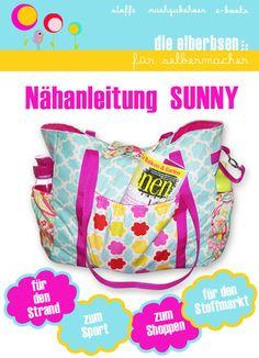 Sunny Strandtasche