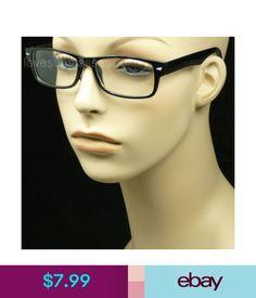 48ed82ee1c45 Unisex Accessories Clear Lens Glasses Nerd Geek Eye Wear Men Women Hipster  Frame Spring Arm  ebay  Fashion