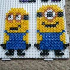 Despicable Me Minions hama beads by hamacraft