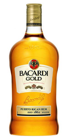 """""""Bacardi Gold features rich vanilla, buttery caramel, toasted almond and sweet banana notes with the warm zest of orange peel and a light tasting, oaky finish."""" – Distiller's notes"""