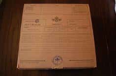 the basic box  -------------------  confezione standard