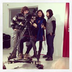 Alumnos de Cine practicando con la #REDONE