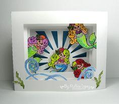 My hobby My Art: Mermaid Shadow box