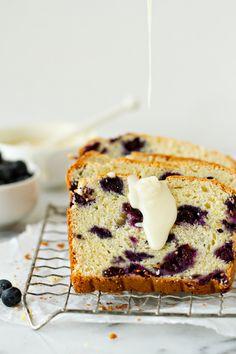 Lemon Blueberry Bread | My Baking Addiction